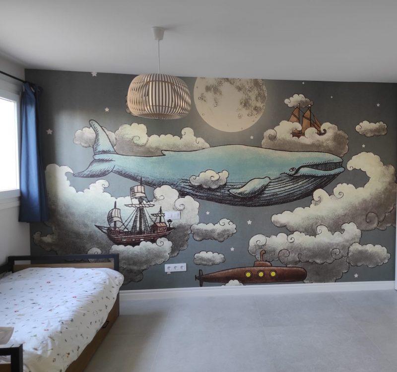 Dormitorio ballena